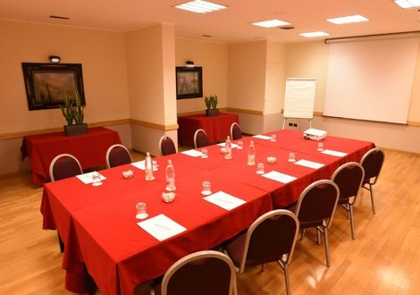 Meeting room Raffaello Hotel Milan