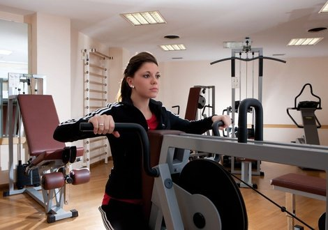 Fitness center Raffaello Hotel Milan